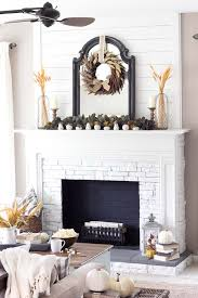 fall decorating ideas fireplace mantel 02 1 kindesign