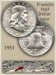 1951 Franklin Half Dollar Value Discover Their Worth