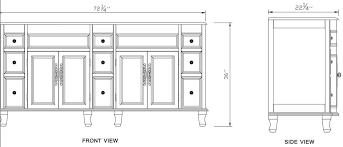 double vanity dimensions attractive 60 aliso creek sink bathgems com with regard to 4