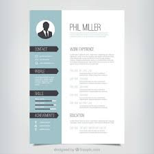 Resume Templates Creative Cv Template Downloads Curriculum Vitae For