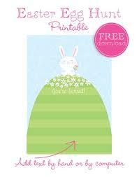 easter egg hunt template planning a neighborhood easter egg hunt plus a free printable