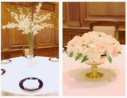 ... Stunning Image Of Wedding Table Decoration With White And Gold Table  Centerpiece : Stunning Accessories For ...