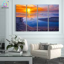 Modern Art Paintings For Living Room Popular Beach Art Paintings Buy Cheap Beach Art Paintings Lots