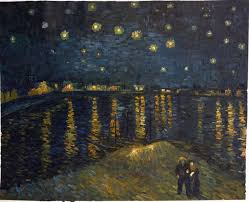 van gogh reion starry night over the rhone