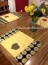 Country Quilted Placemats Rag Placemats by RagQuiltsnPillowsUSA ... & Country Quilted Placemats Rag Placemats by RagQuiltsnPillowsUSA Adamdwight.com
