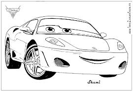 Coloriage Cars Les Beaux Dessins De Disney Imprimer Et