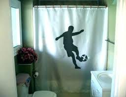 soccer shower curtains football shower curtain soccer football field shower curtain