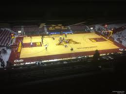Williams Arena Minnesota Seating Chart Williams Arena Minnesota Section 220 Rateyourseats Com