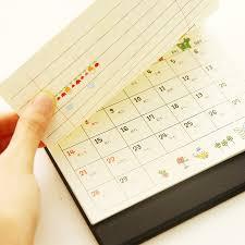 small desk calendar calendars picture more detailed picture about 2016 south korea small desk calendar