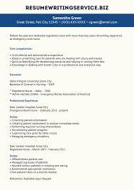Emergency Room Nurse Resume Er Nurse Resume Sample Nursing Resume Writing A Term