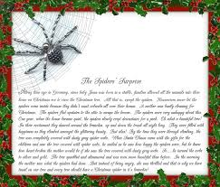 Christmas Spider Legend Poem   Christmas Traditions From My Family To Yours  ~ The Christmas Spider