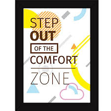 inspirational frames for office. Fatmug Inspirational Synthetic Posters With Frames For Room/Office Quotes Wall And Desk Decor - Office D