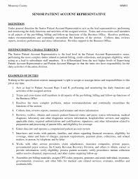 Debt Collector Resume Lovely Examples For Medical Be Sevte