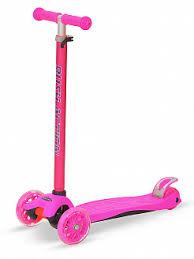 <b>Самокат</b> детский <b>3</b>-<b>х колесный</b> RUSH ACTION розовый - купить в ...