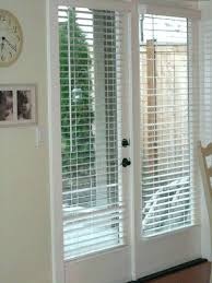 door with blinds inside window patio doors with blinds wood or faux wood blinds for french door with blinds inside