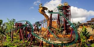 come face to face with a giant snake on cobra s curse at busch gardens tampa bay