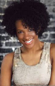 cute short hairstyles for black women with voluminous curly hair