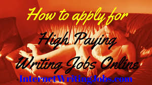 high paying writing jobs online high paying writing jobs online
