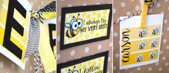 Bee Themed Birthday Chart Busy Bees Keep Behavior On Track With Positive