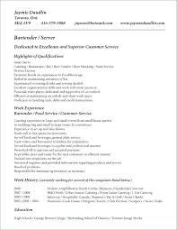 Bartender Resume Job Description Extraordinary Bartender Resume Sample Unique Job Description Example Socialumco
