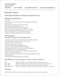 Bartender Resume Sample Beauteous Bartender Resume Sample Unique Job Description Example Socialumco