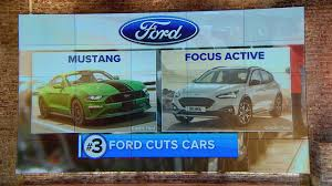Ford Motor Company Stock Quote Classy Ford Focus Active Mustang Will Be Ford's Only Cars By 48 Will