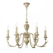 rustic 6 light chandelier