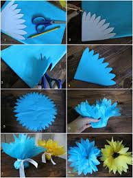 How To Make A Paper Ribbon Flower D I Y Louisville Make It Tissue Paper Flower Favors Tutorial