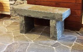 natural stone garden bench bourget bros