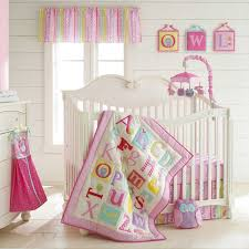 laura ashley owlphabet crib bedding collection in pink baby