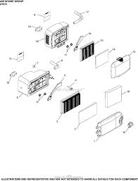 Xt675 3098 viking 6 75 9 2 ft lbs gross torque air intake group xt675 3098 xt675 ⎙ print diagram