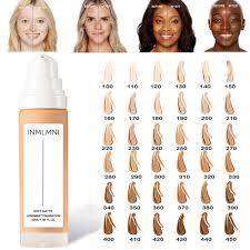 waterproof long wear soft matte foundation base makeup full coverage face foundation liquid concealer 32ml for
