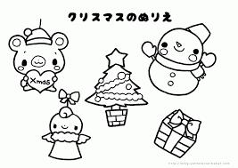 クリスマスのぬりえ 無料ダウンロード 365 Christmas