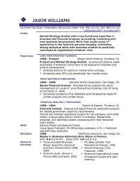 Free Examples Of Resume Template Http Www Resumecareer Info Free