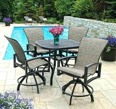 magnificent bar height patio table and chairs bar height outdoor table sets