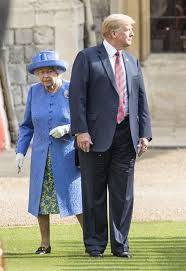 Image result for DID DONALD GRAB THE QUEENS PUSSY