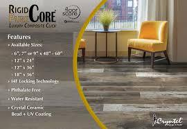 rigid pure core luxury composite