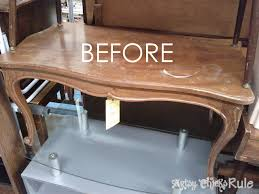 makeover with polyshades chalk paint old thrift coffee table artsyrule com