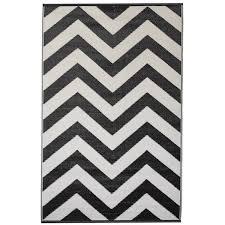 laa black indoor outdoor rug
