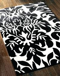 black and white damask rug black and white damask rug black and white damask bath rug