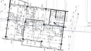 architecture blueprint. abstract architecture background blueprint house plan with sketch of city animated in n