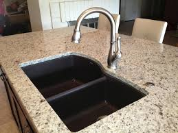 furniture best granite composite kitchen sinks natural within plan blanco silgranit cleaning with r granite sinks photo 7 of 9 composite blanco silgranit