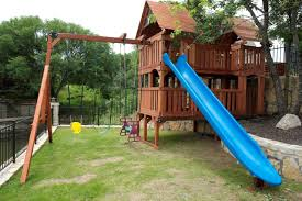 outdoor garden custom wooden swing sets fabulous for kid playing design backyard discovery swingsets