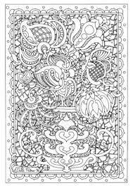 細かくてお花いっぱいの塗り絵ぬりえ無料イラストテンプレート素材