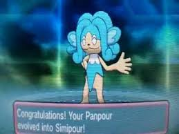 Simisear Evolution Chart Pokemon Omega Ruby And Alpha Sapphire Panpour Evolve Into Simipour