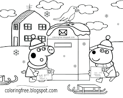 Coloring Pages For Kids How To Draw Pig Coloring Book Learn Coloring