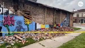George Floyd mural in Toledo crumbles ...