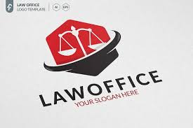 Law Office Logo Design Interesting Law Office Logo Logo Templates Creative Market