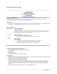 Cosmetology Resume Examples Resume Cover Letter For Cosmetology