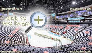 Gila River Stadium Seating Chart Gila River Arena Seat Row Numbers Detailed Seating Chart
